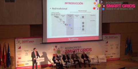 Ángel Silos, Schneider Electric, en el II Congreso Smart Grids