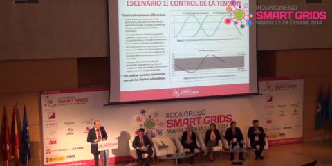 Javier Rodríguez, Landis+Gyr, en el II Congreso Smart Grids