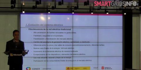 David Rivas, CENER, en el V Workshop Smart Grids