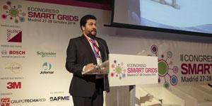 Guillermo Álvarez, CDTI, en el II Congreso Smart Grids