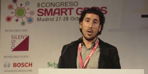 Ibon Cerro, JEMA Energy, e Iker Martínez, Enertic, en II Congreso SG