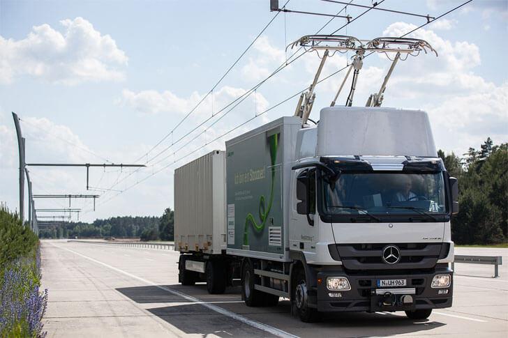 Sistema para camiones eléctricos de Siemens