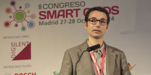Oriol Gomis, de CITCEA-UPC, en el II Congreso Smart Grids