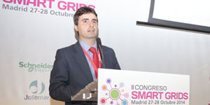 David Lozano, Vodafone, en el II Congreso Smart Grids
