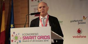 Jesús María Rodríguez, AEG, en el II Congreso Smart Grids