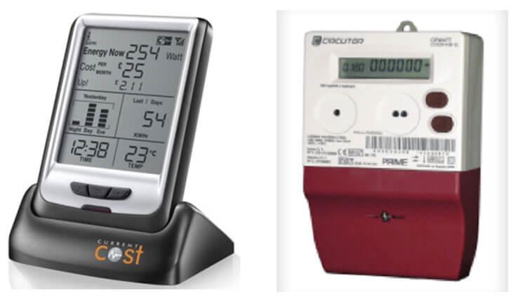 Figura 3. Equipo de medida Current Cost. Smart Meter compatible con protocolo PRIME.
