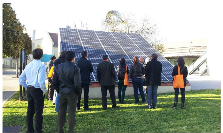 Instalaciones de energías renovables en el Parc Central del Vallès de Sabadell