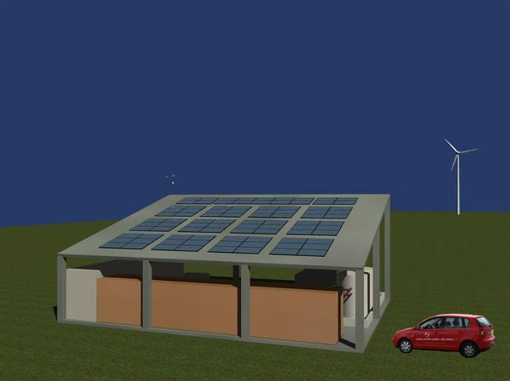 Diseño de la Microrred que se situará en la planta de Jofemar de Peralta.