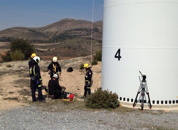 Siemens y Cobra dan formación al personal de mantenimiento del parque eólico Tijola