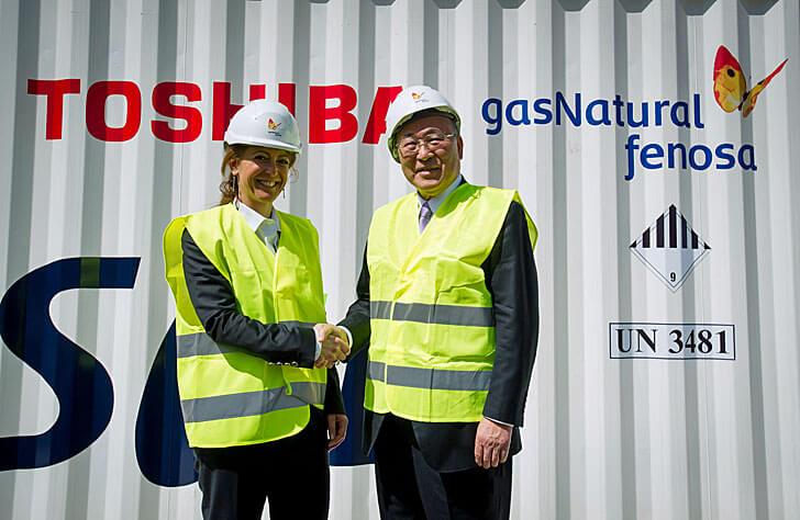 Toshiba y GNF
