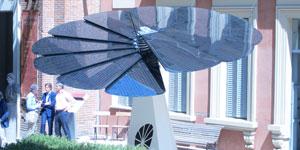Smartflower, el sistema fotovoltaico que emula a los girasoles