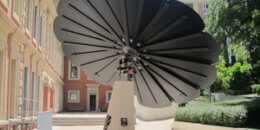 Sistema fotovoltaico Smartflower