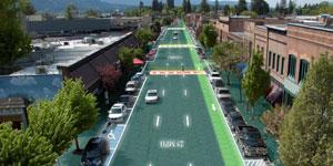 Solar Roadway, energía solar y redes inteligentes en carreteras