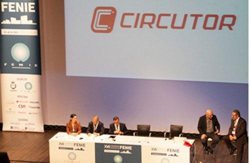 Presentación de nuevas soluciones de CIRCUTOR en FENIE.
