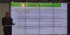Javier Rodriguez, AFCE, en el V Workshop Smart Grids