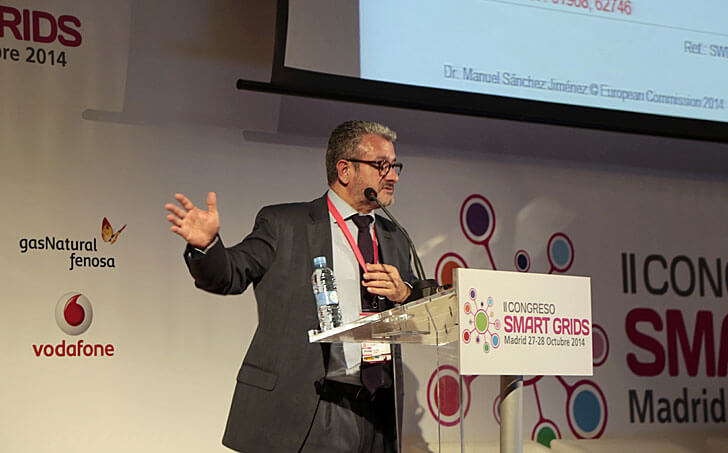 Manuel Sánchez en el II Congreso Smart Grids