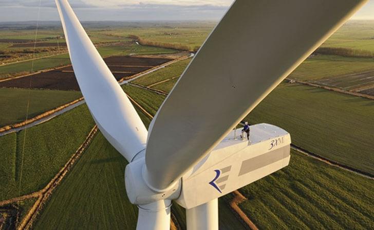Uruguay consigue que la electricidad consumida provenga de fuentes renovables.