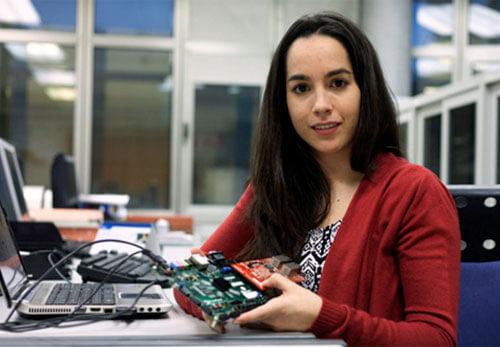 Naiara Moreira, de la UPV