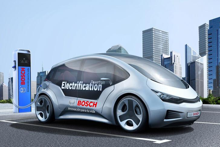 Bosh presenta sus soluciones de interoperabilidad para recargar vehículos.