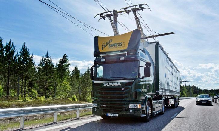 Suecia inaugura la primera carretera eléctrica del mundo.