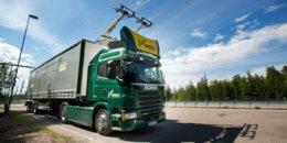 La primera autopista eléctrica, inaugurada en Suecia