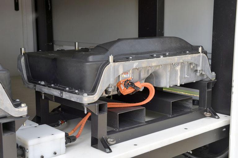 Batería del proyecto SUNBATT