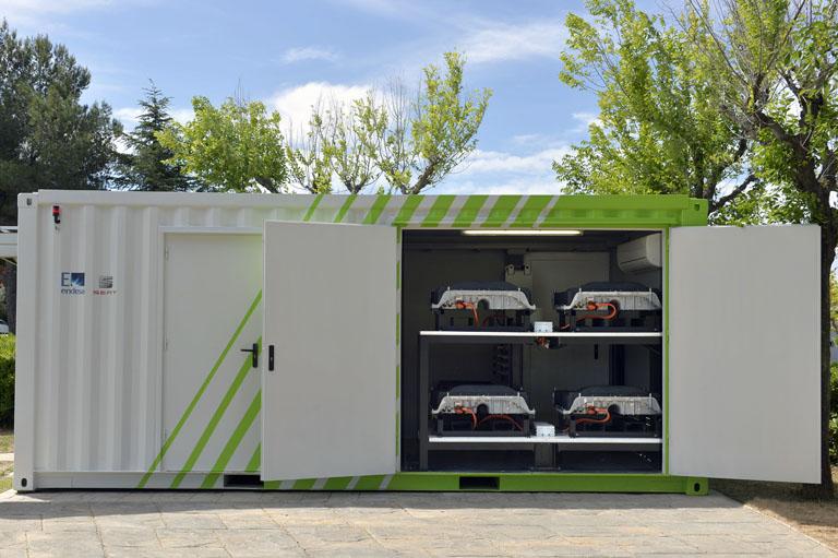 Baterías del proyecto SUNBATT