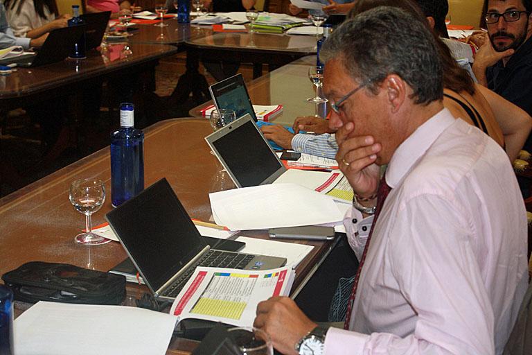 Guillermo Amann, durante el II Comité Técnico del 3º Congreso Smart Grids