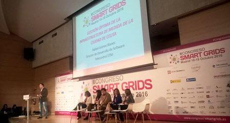 Telecontrol participa en el III Congreso Smart Grids