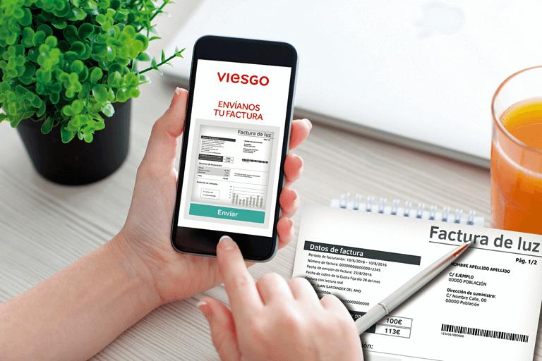App de Viesgo para conocer el consumo de luz en euros