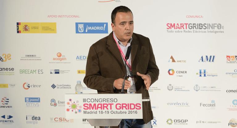 Rafael Gómez, Director de Desarrollo de Software de Telecontrol STM, en el III Congreso Smart Grids.