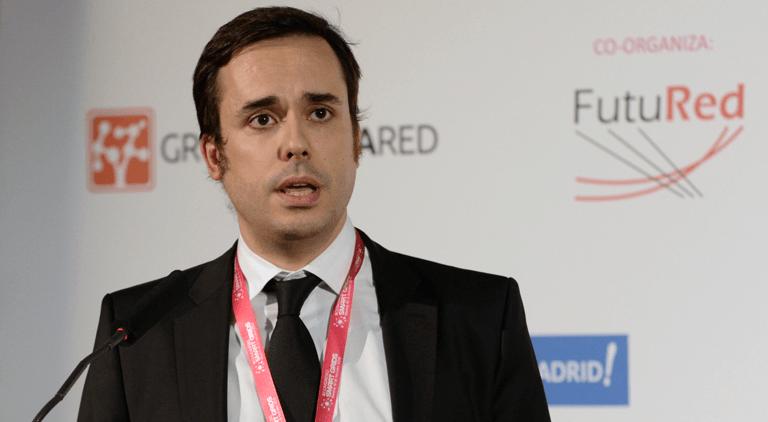 David Miguel Rivas, Técnico del Departamento de Integración en la Red de Energías Renovables de CENER, en el III Congreso Smart Grids.