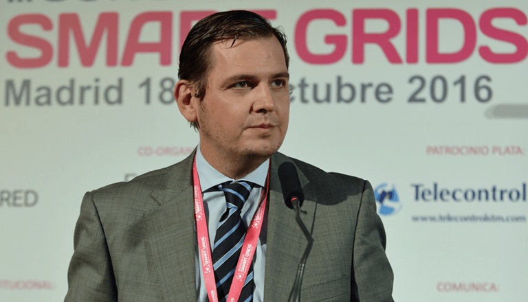 Mariano Gaudó, Responsable de Infraestructuras Red Digital de Gas Natural Fenosa, en el III Congreso Smart Grids.