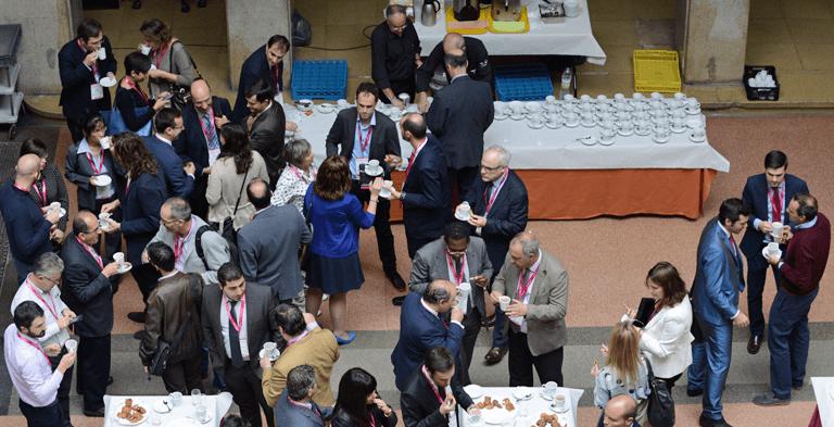 Café networking durante el III Congreso Smart Grids.