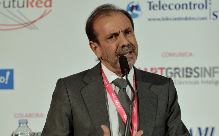 Vicepresidente de FutuRed, Norberto Santiago, durante la clausura del III Congreso Smart Grids