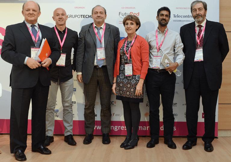 Participantes en la Mesa Redonda sobre Perfiles Profesionales para las Smart Grids. Necesidades y Oportunidades en el III Congreso Smart Grids.