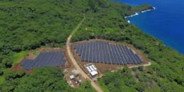 Autosuficiencia con energía solar en la isla de Ta'u