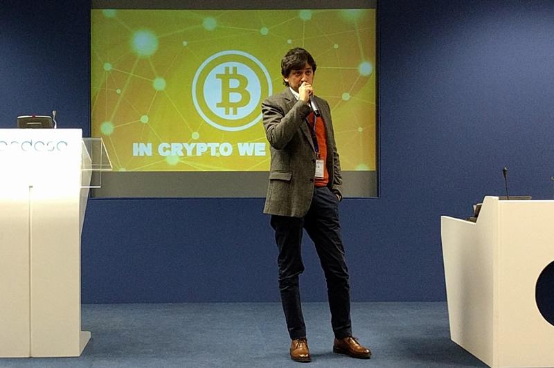 Antonio Gonzalo explica cómo función la tecnología Blockchain