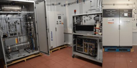 Laboratorio de Microrredes CNH2: Plataforma Experimental para el prototipado rápido de soluciones de almacenamiento híbrido de energía