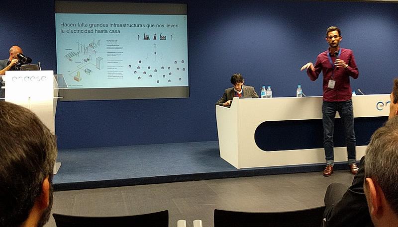 Lauren Hardy presenta la estructura del mercado eléctrico actual