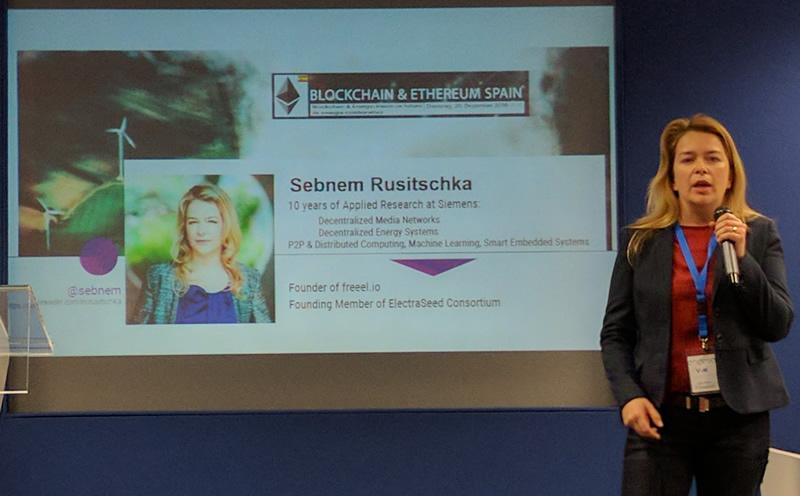 Sebnem Rusitschka presenta la idea de consumo inteligente y la electrificación de zonas rurales