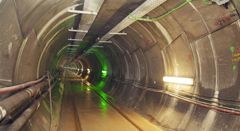 Túnel de interconexión energética entre España y Francia