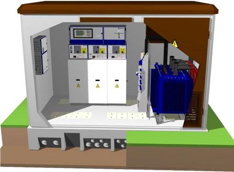 Figura 1. Centro de transformación