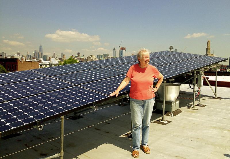 Vecina de Brooklyn prosumidora gracias a la energía solar