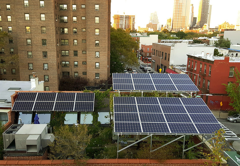 Placas solares en Brooklyn