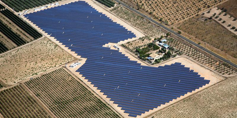 La planta de generación fotovoltaica Los Almendros, situada en la Comunidad Valenciana es uno de los proyectos que ha adquirido la nueva compañía inversora Kobus Partners.