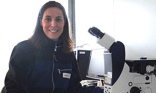 Agurtzane Martínez Ortigosa, responsable del Laboratorio de Materiales de Gamesa que ha recibido la acreditación de la ENAC.