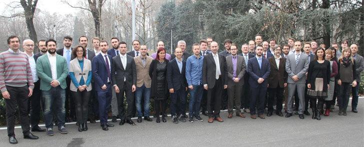 Participantes del proyecto SmartNet tras su primera reunión
