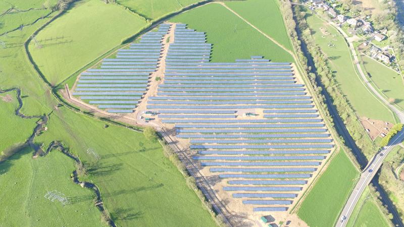Parque fotovoltaico de Stoneshill , Reino Unido, de Gamma Solutions.