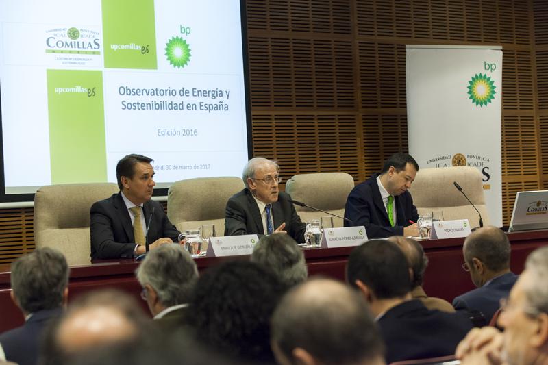 La Cátedra BP de Energía y Sostenibilidad ha presentado el Informe 2016 del Observatorio de Energía y Sostenibilidad.